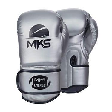 Luva de Boxe MKS Energy V2 Silver (18 oz)