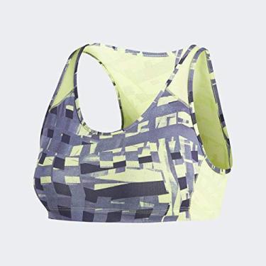 Top Adidas Graphic Padbra - Cinza/Amarelo