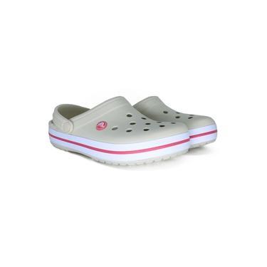 Sandalia Crocs Crocband Off White