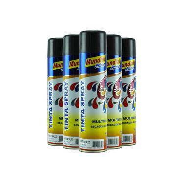 Tinta Spray Grafite Metálico 400ml - Mundial Prime
