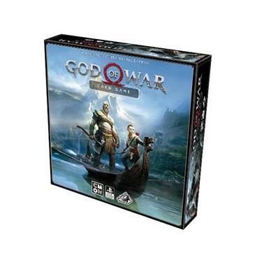 Jogo de Tabuleiro - God of War: Card Game