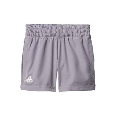 Shorts masculinos Adidas para clube, cinza glória, G