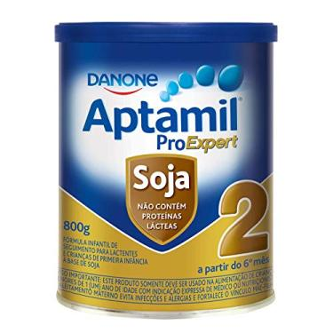 Fórmula Infantil Aptamil Proexpert Soja 2 Danone Nutricia 800g