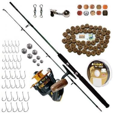 Kit De Pesca Completo Vara 1,70 Molinete 4000 E Acessórios - Marine sp