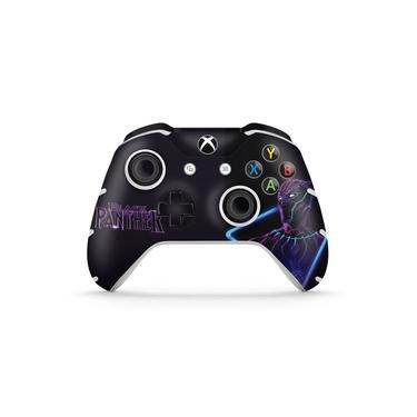 Skin Adesivo para Xbox One Slim X Controle - Pantera Negra
