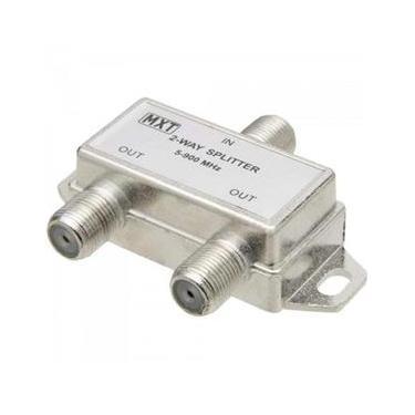 Divisor Splinter Blindado 1X2 50~900Mhz Cromado Mxt