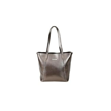 Bolsa Bronze Pu Queens Paris