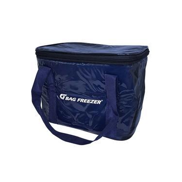 Imagem de Bolsa Semi Térmica 10 Litros PVC Azul Bag Freezer