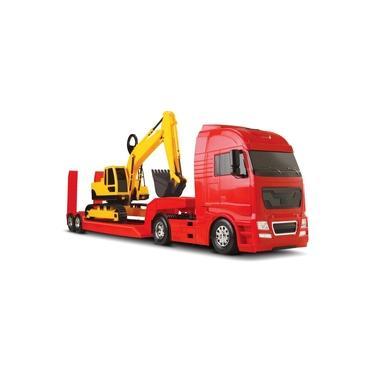 Imagem de Caminhão Diamond Truck C/ Trator Escavadeira - Roma Brinquedos
