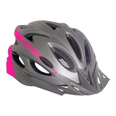 Capacete Ciclismos Bike Mtb Speed Gta C/sinalizador. Rosa
