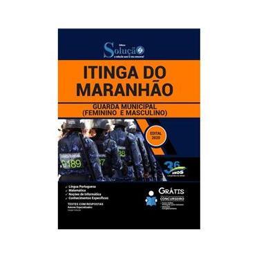 Imagem de Apostila Prefeitura Itinga Do Maranhão Ma - Guarda Municipal