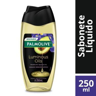 Sabonete Líquido Palmolive Luminous Oils Sensação Nutritiva para o Corpo 250ml