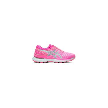 Imagem de Tênis asics gel nimbus 22 hot pink feminino