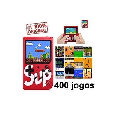 Novo Mini Game Boy Portátil 400 Jogos Inclusos Promoção Vermelho Video Game