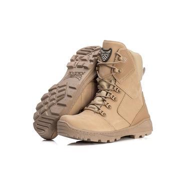 Bota Coturno Militar Mamut Touro Boots Acero Masculina Bege