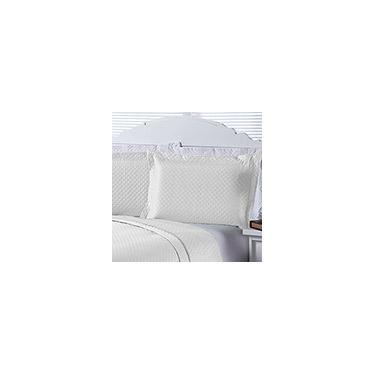 Imagem de Porta Travesseiro Dual Color 2 Peças Branco - Enxovais Aquarela