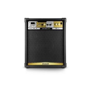 Caixa Amplificada Multiuso Frahm MF400 APP 300w RMS Bluetooth, USB, SD Card e FM