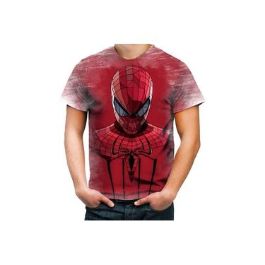 Camiseta Camisa Personalizada Homem Aranha Spider Man Hero 2