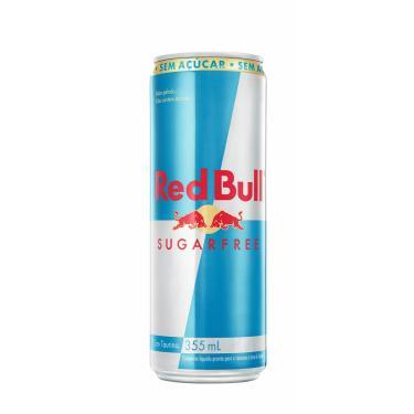 Energético Red Bull Sugar Free com 355ml 355ml