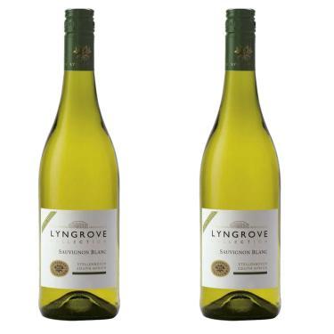 Kit 2X Vinho Branco Sul-Africano Lyngrove Collection Sauvignon Blanc 2020