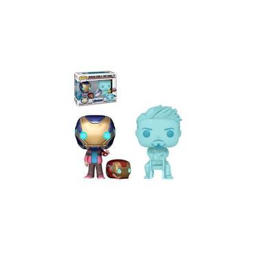 Imagem de Funko Pop Morgan Stark & Tony Stark GITD 2-Pack Vingadores Ultimato