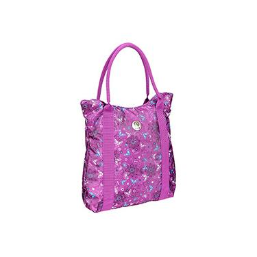 Totebag Fico Butterfly Summer Beach 736195Q Roxo - Pacific