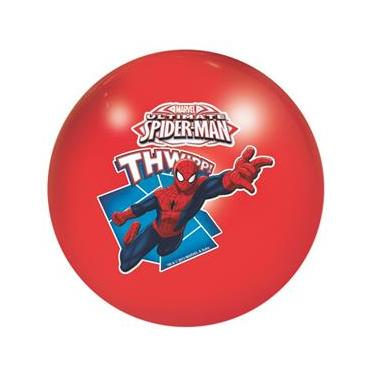 Bola Infantil em Vinil Spiderman Vermelha 531 - Lider