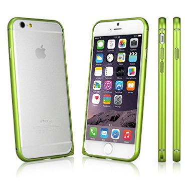Capa para iPhone 6S, BoxWave [Capa Quantum] Alumínio Metálico Reforçado Capa para iPhone 6/6s (Verde Mola)