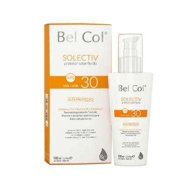 Protetor Solar Bel Col Solectiv Fluido FPS 30 - 100g