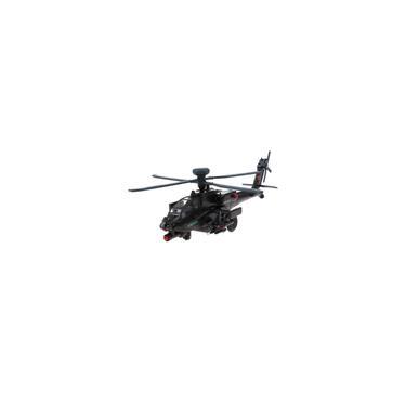 Imagem de 1:64 Gunship AH-64D Helicóptero Aeronave Militar Modelo De Brinquedo Fundido