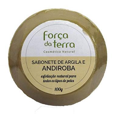 Sabonete de Argila e Andiroba Força da Terra 100g