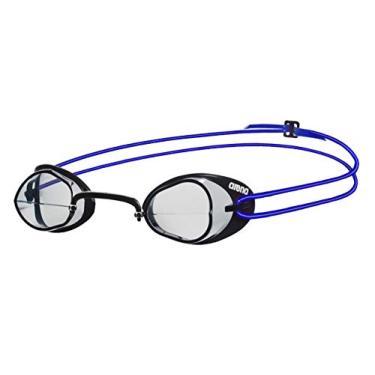 Arena Oculos Swedix Lente Transparente, Preto/ Azul