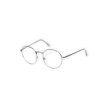 Imagem de Armação Oculos De Grau Tipo Hexagonal Feminino Masculino