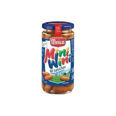 Salsichas cozidas em salmora Mini Wini 380gr