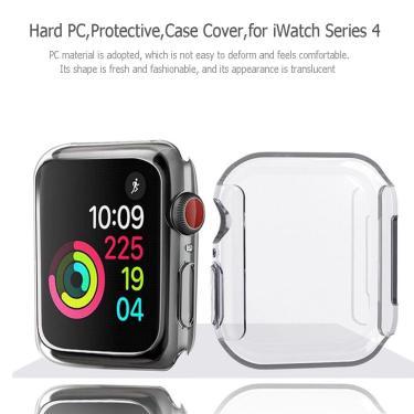 Capa protetora de tela dura para apple watch iwatch series 4
