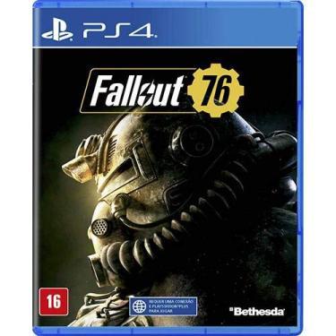 Jogo Fallout 76 - Ps4 Mídia Física
