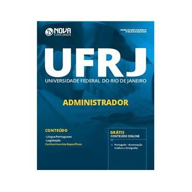 Imagem de Apostila UFRJ 2019  Administrador