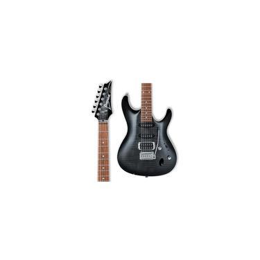 Imagem de Guitarra SA260 Ibanez tbg Trans Gray Burst Preta Tigrada Super Strato hss