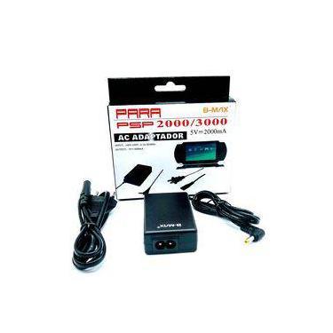 Adaptador Fonte carregador para PSP 2000 3000 game portátil