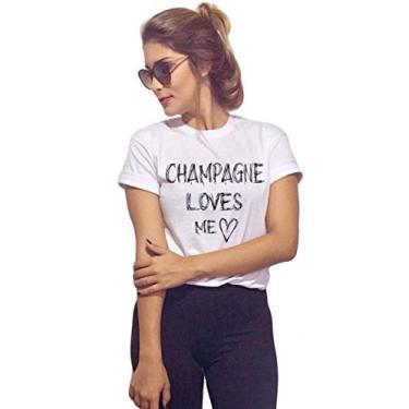 Camiseta Joss Básica Champagne Branca