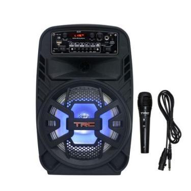 CAIXA DE SOM AMPLIFICADA c/ Bluetooth Usb/Fm/Aux/Sd - 100W