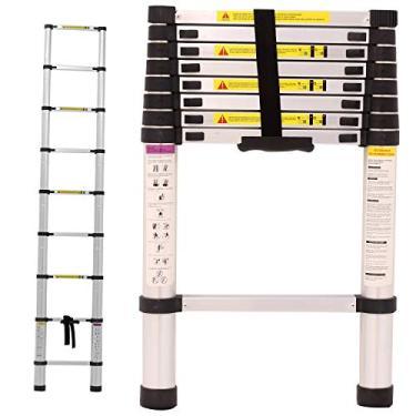 Imagem de Escada Alumínio Telescópica 2.6 m 9 Degraus