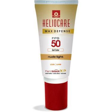 Heliocare Max Defense Gel Color Fps 50 Nude Bronze 50g