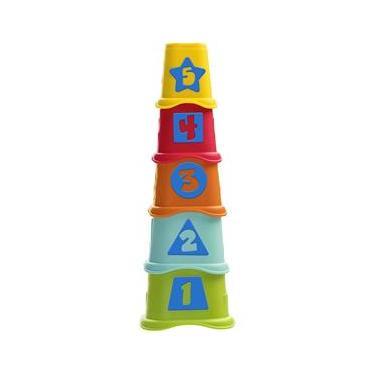 Imagem de Brinquedo Torre Copos dos Numeros 2 em 1 Smart2Play Chicco