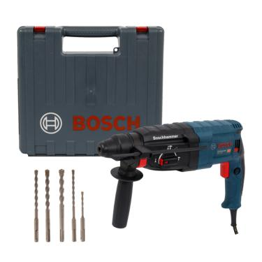 Martelete SDS Plus 820W GBH 2-24 D com Kit 220V Bosch