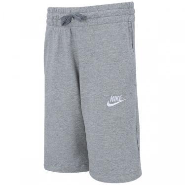 Bermuda de Moletom Nike Sportswear - Infantil Nike Masculino