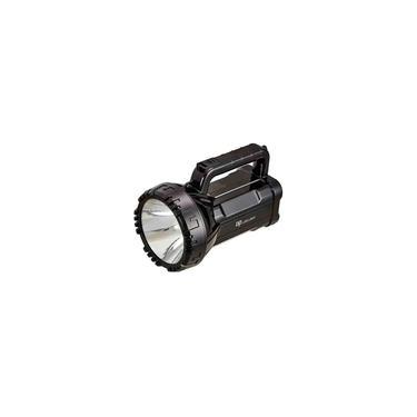 Lanterna Holofote Tática de mão LED com alça Recarregavel
