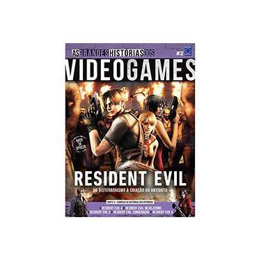 As Grandes Histórias Dos Videogames - Resident Evil Parte 2 - Editora Europa - 9788579603129