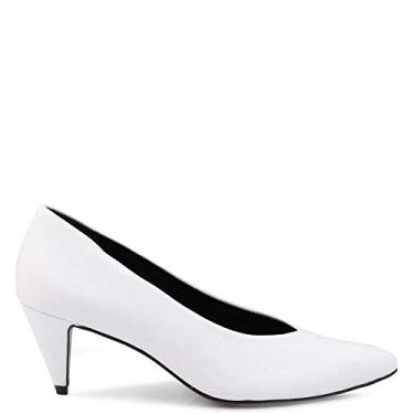 81c98b833 Sapato R$ 50 a R$ 130 Feminino Scarpin Branco | Moda e Acessórios ...
