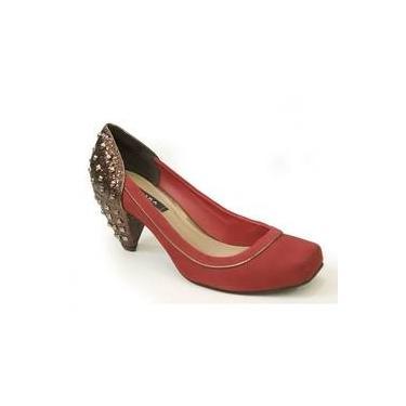 Sapato De Couro Camurça N4281 Tanara (35)